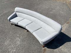 A Mikael Laursen Illum Wikkelso Mikael Laursen 4 Seat Sofa Denmark 1960s - 1318376