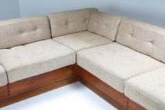 A Mikael Laursen Mid Century Modern Sectional Couch by Mikael Laursen 1960s - 1421051