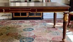 A Rudin Regency Style A Rudin Designer Writing Table Partners Desk - 2067836