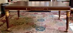 A Rudin Regency Style A Rudin Designer Writing Table Partners Desk - 2067838