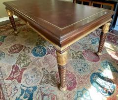 A Rudin Regency Style A Rudin Designer Writing Table Partners Desk - 2067847