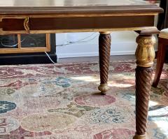 A Rudin Regency Style A Rudin Designer Writing Table Partners Desk - 2067870
