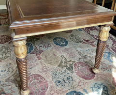 A Rudin Regency Style A Rudin Designer Writing Table Partners Desk - 2067871