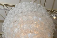 A V Mazzega Monumental Italian Modern Glass Chandelier Mazzega - 37653
