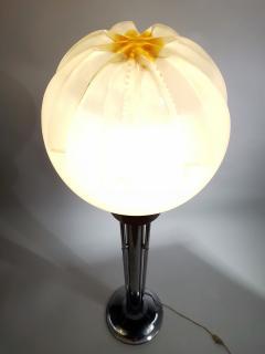 A V Mazzega Wonderful A V Mazzega Glass Floor Lamp Italy 1970s - 1876338