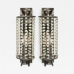 ADG Lighting 5185 Averys Crystal Beaded Sconce ADG Lighting - 1387286