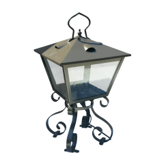 ADG Lighting 714 5 Ocean Way Lantern Wrought Iron Open Frame ADG Lighting - 1358896