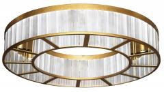 ADG Lighting 7183 Rectangular Ceiling Mount Ring Flush Fixture ADG Lighting - 1359682