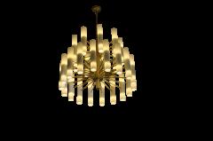 ADG Lighting 7192 Mid Century Chandelier Fox Den ADG Lighting - 1359717