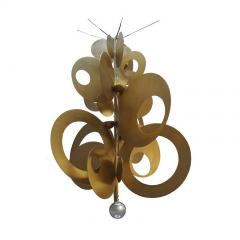 ADG Lighting 77677 Contemporary Coin Chandelier ADG Lighting - 1363084