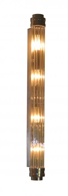 ADG Lighting 90762 Glass Rod Nickel Sconce ADG Lighting - 1361865