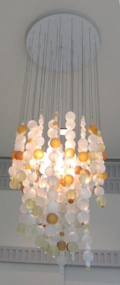 ADG Lighting Contemporary Spago Ball Chandelier - 1556276