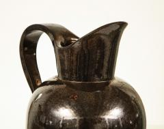 Accolay Pottery MONUMENTAL METALLIC PITCHER BY ACCOLAY - 1630123