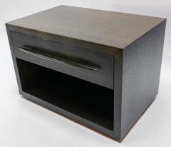 Adesso Studio Custom Midcentury Style Dark Oak Nightstand - 1851221