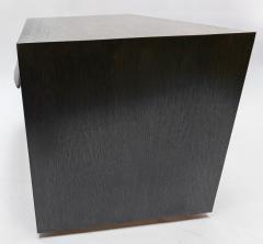 Adesso Studio Custom Midcentury Style Dark Oak Nightstand - 1851226