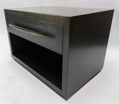 Adesso Studio Custom Midcentury Style Dark Oak Nightstand - 1851227