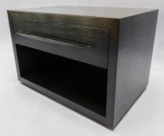 Adesso Studio Custom Midcentury Style Dark Oak Nightstand - 1851230