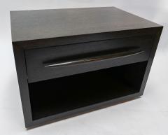 Adesso Studio Custom Midcentury Style Dark Oak Nightstand - 1851231