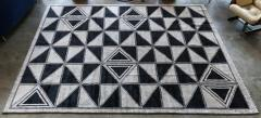 Adesso Studio Moroccan Rug with Geometric Triangles - 1107403