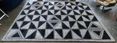 Adesso Studio Moroccan Rug with Geometric Triangles - 1107404