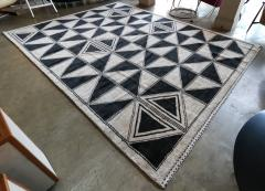 Adesso Studio Moroccan Rug with Geometric Triangles - 1107406