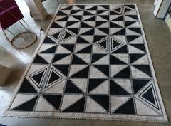 Adesso Studio Moroccan Rug with Geometric Triangles - 1107407