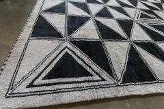 Adesso Studio Moroccan Rug with Geometric Triangles - 1107408