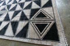 Adesso Studio Moroccan Rug with Geometric Triangles - 1107410