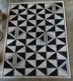 Adesso Studio Moroccan Rug with Geometric Triangles - 1107412