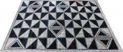 Adesso Studio Moroccan Rug with Geometric Triangles - 1108615
