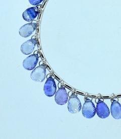 Adler Adler Sapphire and 18K hoop style earrings Geneva  - 1139701