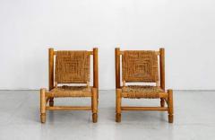 Adrien Audoux Frida Minet AUDOUX MINET ROPE CHAIRS - 1223237