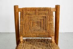 Adrien Audoux Frida Minet AUDOUX MINET ROPE CHAIRS - 1223243