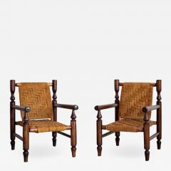 Adrien Audoux Frida Minet AUDOUX MINET ROPE CHAIRS - 1698453