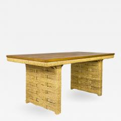 Adrien Audoux Frida Minet Adrien Audoux Frida Minet Dining Table circa 1955 France - 1088049