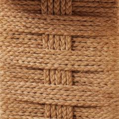 Adrien Audoux Frida Minet Audoux and Minet rope cord console Vibo Vesoul France c1940s - 1121600