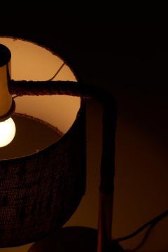 Adrien Audoux Frida Minet Elegant Fine Minet Rope Table Lamp by Adrien Audoux - 748557