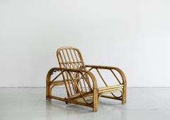 Adrien Audoux Frida Minet RARE AUDOUX MINET RATTAN LOUNGE CHAIRS - 1020032