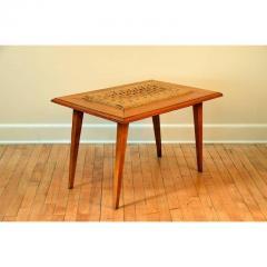 Adrien Audoux Frida Minet Rare Oak and Rope Side Table by Adrien Audoux and Frida Minet - 1078800