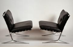 Airborne International Rare Pair of Original Joker Lounge Chairs by Olivier Mourgue for Airborne - 1148127