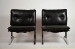 Airborne International Rare Pair of Original Joker Lounge Chairs by Olivier Mourgue for Airborne - 1148129