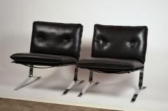 Airborne International Rare Pair of Original Joker Lounge Chairs by Olivier Mourgue for Airborne - 1148131