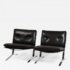 Airborne International Rare Pair of Original Joker Lounge Chairs by Olivier Mourgue for Airborne - 1148358