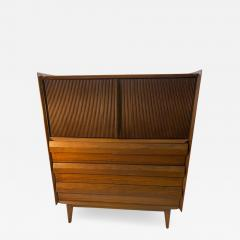 Altavista Lane MID CENTURY MODERN HIGH CHEST BY LANE IN THE MANNER OF GEORGE NAKASHIMA - 1528785