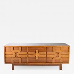 Altavista Lane Sculptural Aztec Mosaic Front 9 Drawer Dresser by Lane Altavista - 1338676