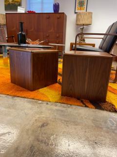 Altavista Lane Wooden cube table pair - 2117671
