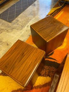 Altavista Lane Wooden cube table pair - 2117684