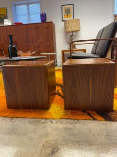 Altavista Lane Wooden cube table pair - 2117685