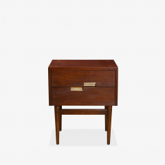 American of Martinsville Accord Nightstands by Merton Gershun for American of Martinsville Pair - 1817702