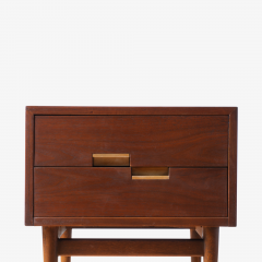 American of Martinsville Accord Nightstands by Merton Gershun for American of Martinsville Pair - 1817705